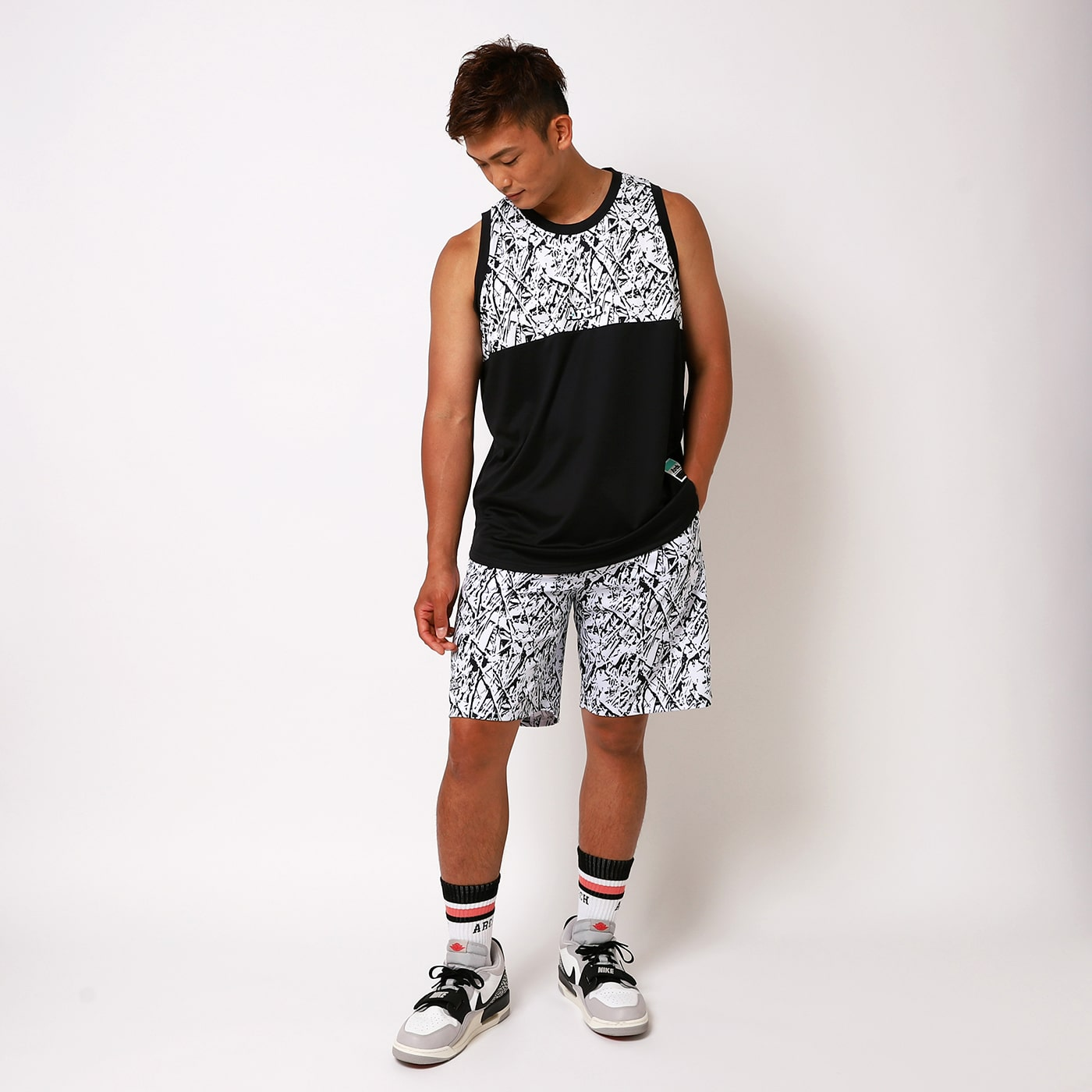 Arch nervure tank and shorts